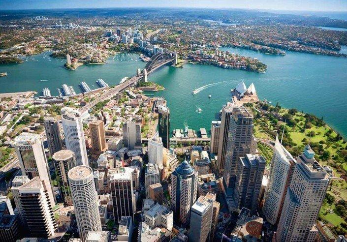 Sydney and North Sydney CBD