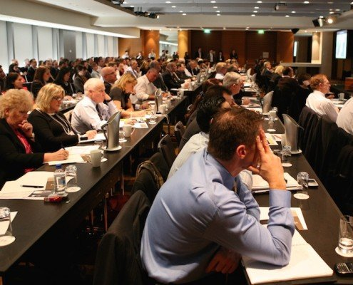 Executives at a Janellis CBD Emergency Management Summit