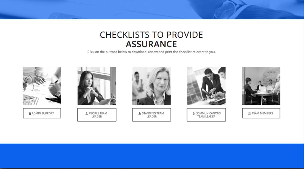 crisis management digital tools - checklists