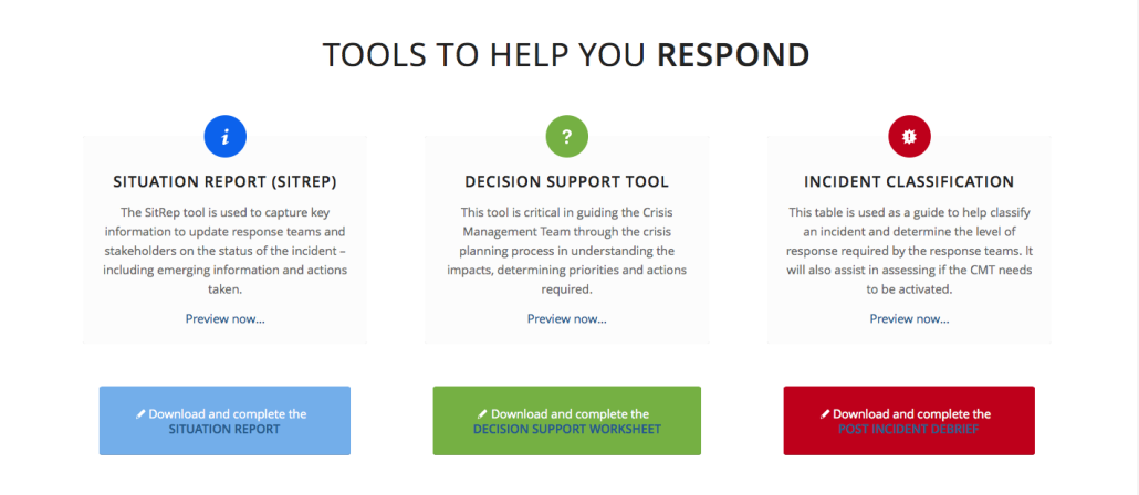 crisis management digital tools
