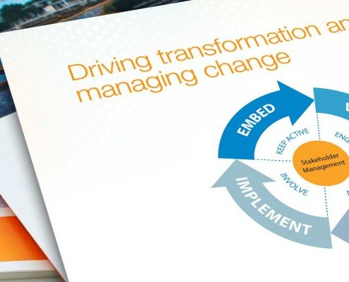 Janellis driving transformation and managing change brochure