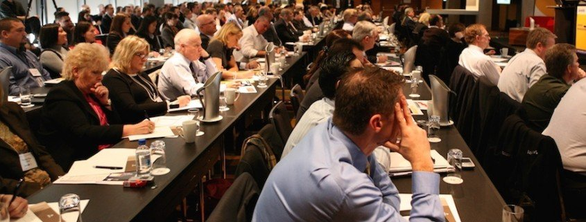 Executives at a Janellis CBD Emergency Management Summit